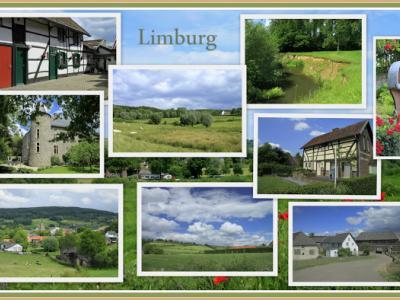 Zuid-Limburg, collage (© Jan Dijkstra, Houten)