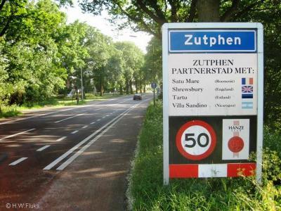 Zutphen is een stad en gemeente in de provincie Gelderland, in de streek Achterhoek.