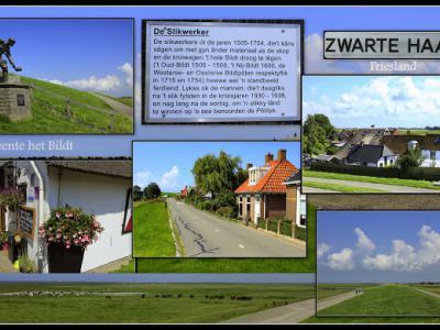 Zwarte Haan, collage van buurtschapsgezichten (© Jan Dijkstra, Houten)